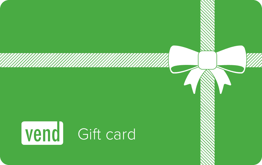 Vend Gift Cards, a Great Way to Make Money!